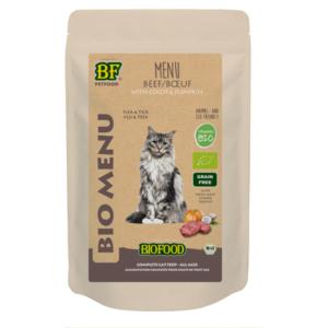 Biologisch nat kattenvoer